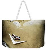 1956 Chevrolet Hood Ornament - Emblem Weekender Tote Bag