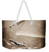 1956 Chevrolet Hood Ornament Weekender Tote Bag