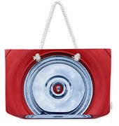 1956 Ford Thunderbird Spare Tire Emblem Weekender Tote Bag