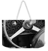 1957 Aston Martin Dbr2 Steering Wheel Weekender Tote Bag