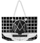 1957 Aston Martin Owner's Club Emblem Weekender Tote Bag by Jill Reger