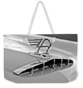 1957 Austin Cambrian 4 Door Saloon Hood Ornament Weekender Tote Bag