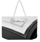 1957 Buick Custom Station Wagon Caballera Emblem Weekender Tote Bag by Jill Reger