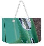1957 Chevrolet Corvette Taillight Weekender Tote Bag