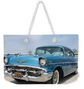 1957 Chevy Bel-air Weekender Tote Bag
