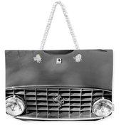 1957 Ferrari 410 Superamerica Coupe Grille Emblem Weekender Tote Bag