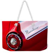 1957 Ford Custom 300 Series Ranchero Taillight Emblem Weekender Tote Bag