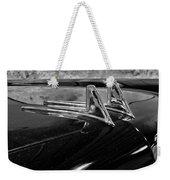 1957 Lincoln Capri Hood Ornament Weekender Tote Bag