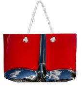 1958 Chevrolet Corvette Headlights Weekender Tote Bag