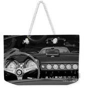 1958 Ferrari 250 Gt Lwb California Spider Steering Wheel Emblem -  Dashboard Weekender Tote Bag