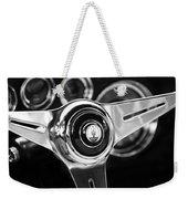 1958 Maserati Steering Wheel Emblem Weekender Tote Bag