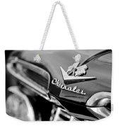1959 Chevrolet Grille Emblem Weekender Tote Bag