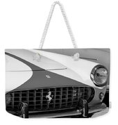 1959 Ferrari 250 Gt Coupe Grille Emblems Weekender Tote Bag