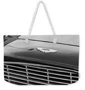 1960 Aston Martin Db4 Grille Emblem Weekender Tote Bag by Jill Reger