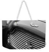 1960 Aston Martin Db4 Gt Coupe' Grille Emblem Weekender Tote Bag