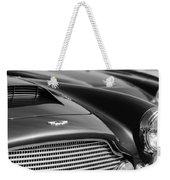 1960 Aston Martin Db4 Series II Grille - Hood Emblem Weekender Tote Bag