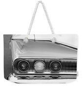 1960 Chevrolet Impala Tail Lights Weekender Tote Bag