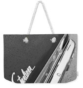1960 Ford Galaxie Starliner Taillight Emblem Weekender Tote Bag by Jill Reger