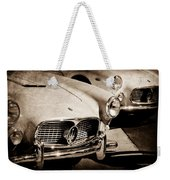 1960 Maserati Grille Emblem Weekender Tote Bag by Jill Reger