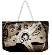 1960 Maserati Steering Wheel Emblem Weekender Tote Bag