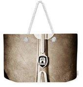 1960 Volkswagen Vw Hood Emblem Weekender Tote Bag by Jill Reger