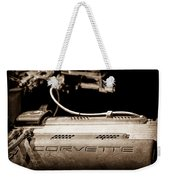 1961 Chevrolet Corvette Engine Weekender Tote Bag