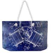 1961 Propeller Patent Drawing Weekender Tote Bag