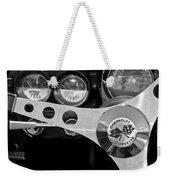 1962 Chevrolet Corvette Convertible Steering Wheel Weekender Tote Bag
