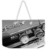 1962 Plymouth Fury Taillights And Emblem Weekender Tote Bag