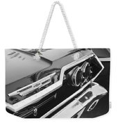 1963 Chevrolet Taillight Emblem Weekender Tote Bag