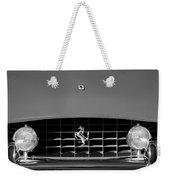 1963 Ferrari Grille Emblem Weekender Tote Bag