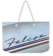 1963 Ford Falcon Futura Convertible  Emblem Weekender Tote Bag by Jill Reger
