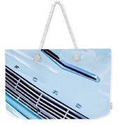 1963 Ford Falcon Futura Convertible Hood Emblem Weekender Tote Bag
