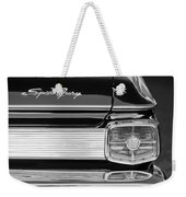 1963 Plymouth Sport Fury Taillight Emblem Weekender Tote Bag