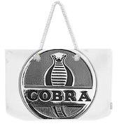 1963 Shelby 289 Cobra Emblem Weekender Tote Bag