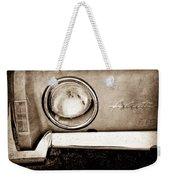 1963 Studebaker Avanti Emblem Weekender Tote Bag