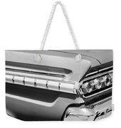 1964 Mercury Comet Taillight Emblem Weekender Tote Bag