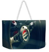 1965 Ford Gt 40 Steering Wheel Emblem Weekender Tote Bag