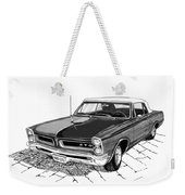 1965 Pontiac G T O Convertible Weekender Tote Bag