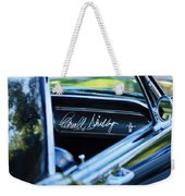 1965 Shelby Prototype Ford Mustang Carroll Shelby Signature Weekender Tote Bag