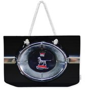 1965 Sunbeam Tiger Grille Emblem Weekender Tote Bag