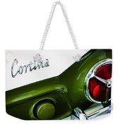1966 Lotus Cortina Mk1 Taillight Emblem Weekender Tote Bag