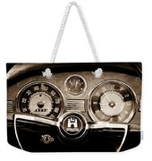 1966 Volkswagen Vw Karmann Ghia Steering Wheel Weekender Tote Bag