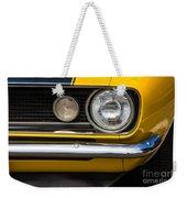 1967 Camaro Headlight Weekender Tote Bag