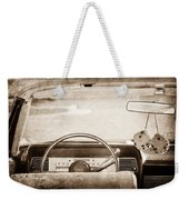 1967 Lincoln Continental Steering Wheel Weekender Tote Bag