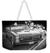 1967 Pontiac Gto Bw Weekender Tote Bag