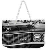 1969 Cadillac Eldorado Grille Weekender Tote Bag