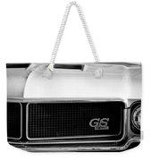 1970 Buick Gs Grille Emblem Weekender Tote Bag