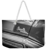 1970 Chevy Chevelle 454 Ss Bw  Weekender Tote Bag