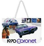 1970 Dodge Coronet Super Bee Weekender Tote Bag